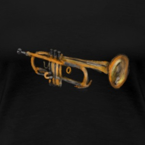 Trumpet artwort Art T-shirts - Vrouwen Premium T-shirt