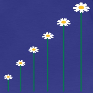 the_growing_flowers T-shirts - Dame premium T-shirt