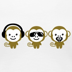 three_monkeys T-shirts