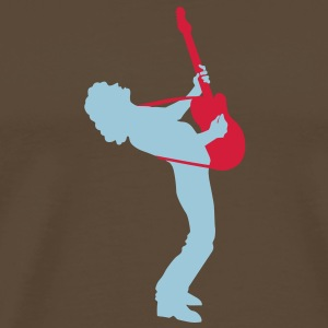 guitar player Tee shirts - T-shirt Premium Homme