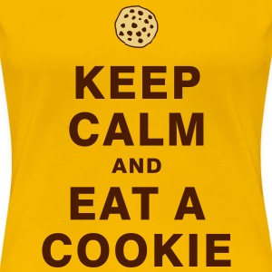 KEEP CALM AND EAT A COOKIE T-Shirts - Women's Premium T-Shirt