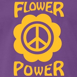 flower power T-shirts - Mannen Premium T-shirt