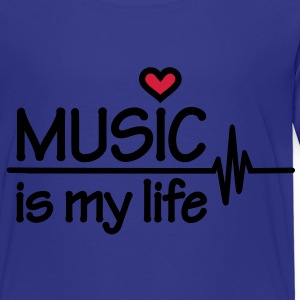 Music is my life T-Shirts - Kinder Premium T-Shirt