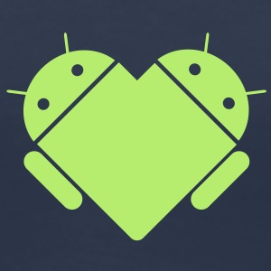 Android love T-Shirts - Frauen Premium T-Shirt
