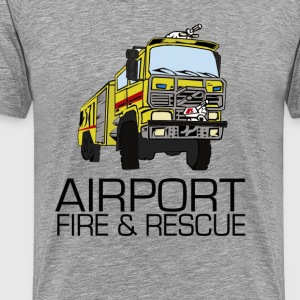 Airport fire & rescue T-shirts - Premium-T-shirt herr
