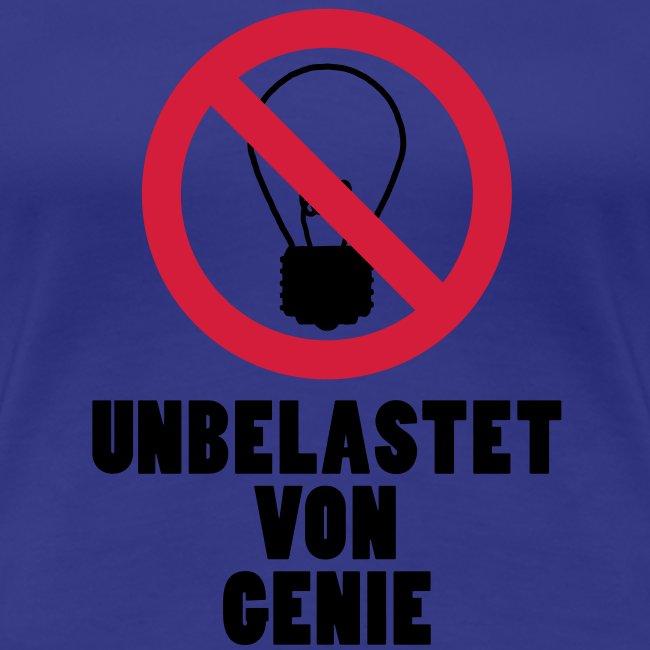unbelastet von Genie
