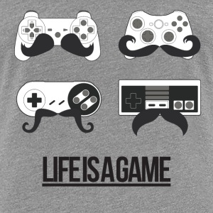 Life is a game (Femme) - T-shirt Premium Femme