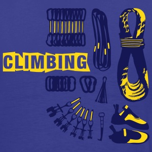 Set of Alpine Climbing Gear - 3 Colors - Text T-Shirts - Männer Premium T-Shirt