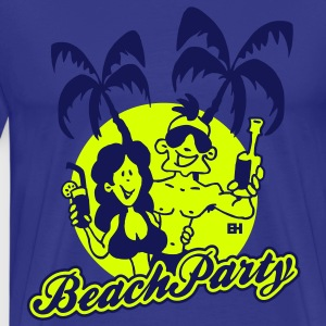 Beach Party T-Shirts - Männer Premium T-Shirt