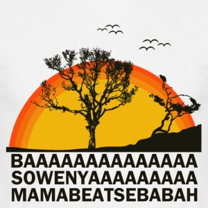 AFRICAN MOVIE SONG - Männer T-Shirt