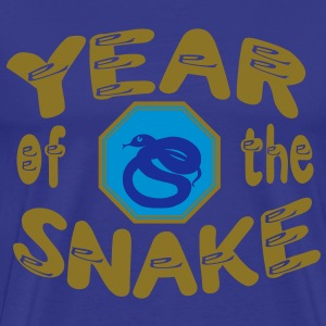 yin water snake chinese new year T-Shirts - Men's Premium T-Shirt