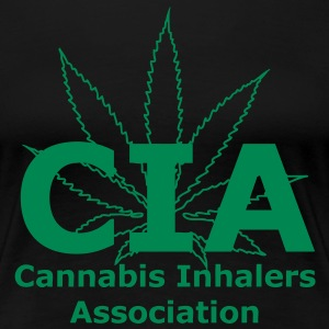 CIA - Cannabis Inhalers Association T-Shirts - Women's Premium T-Shirt