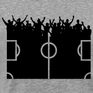 Fans of football  T-Shirts - Men's Premium T-Shirt