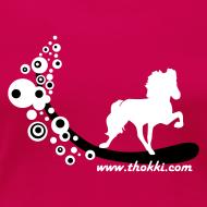 Motiv ~ Damenshirt Bubbletölter sorbet