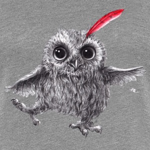Chief Red - Happy Owl T-shirts - Dame premium T-shirt