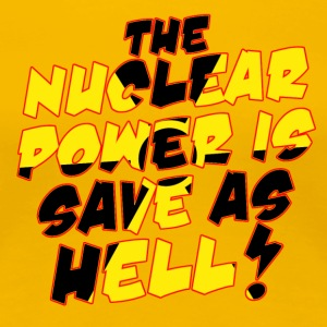 Nuclear Power T-Shirts - Women's Premium T-Shirt