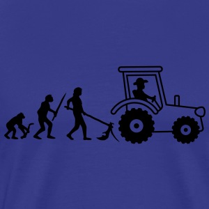 tractor_evolution T-shirts - Herre premium T-shirt