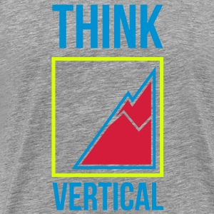 Logo Think Vertical Color - Maglietta Premium da uomo