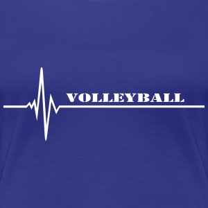 Volleyball T-shirts - Vrouwen Premium T-shirt