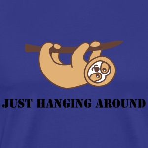 cute sloth T-Shirts - Men's Premium T-Shirt