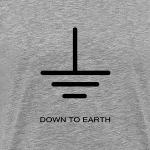 Down to Earth - Men's Premium T-Shirt