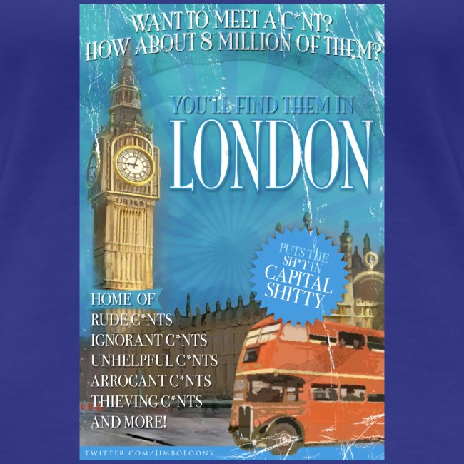 LADIES Taff Tourism: London  (swear free)