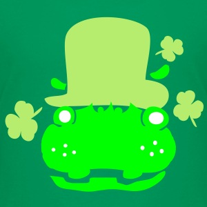 Hippo in green hat st.Patty's day Classic Teenager - Teenage Premium T-Shirt
