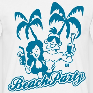 Beach Party T-skjorter - T-skjorte for menn