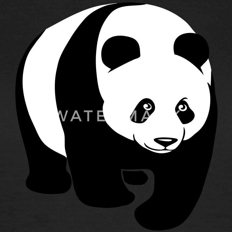 panda teddy bear cute animal t-shirt T-Shirts - Women's T-Shirt
