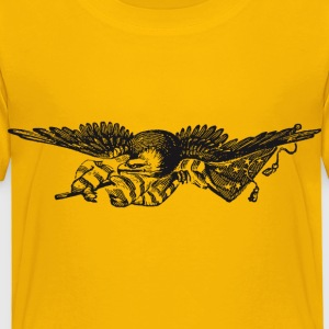 Kindershirt Wappen USA Adler Eagle - Kinder Premium T-Shirt