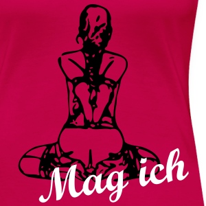 Slavegirl backside - Mag ich - Frauen Premium T-Shirt