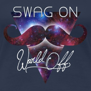 world off swag on T-shirts - Premium-T-shirt dam