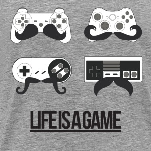 Life is a game (Homme) - T-shirt Premium Homme