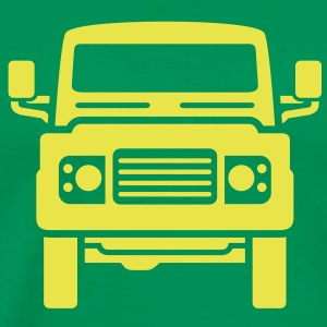 Landie Defender illustration - Autonaut.com - Men's Premium T-Shirt