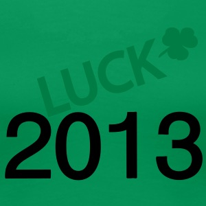 2013 luck st.Patty's day Women's Girlie Shirt - Women's Premium T-Shirt