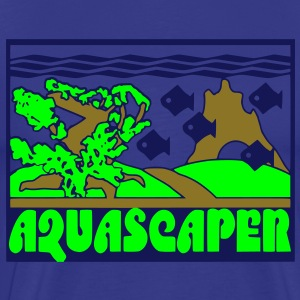 aquascaper_aquascaping_aquarium T-Shirts - Männer Premium T-Shirt
