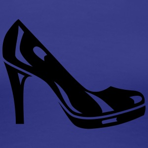 Plateau Pumps - High Heels - Schuhe - shopping -1C T-Shirts - Frauen Premium T-Shirt