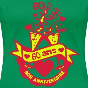 60 ans flute champagne anniversaire verr