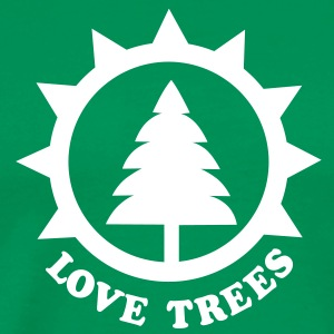 tree lover T-Shirts - Men's Premium T-Shirt