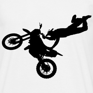 freestyle_motorcyclist Tee shirts - T-shirt Homme