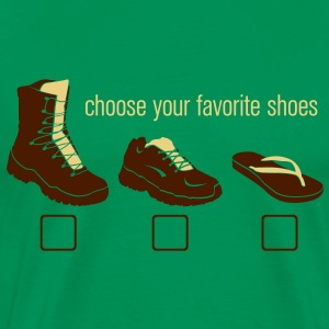 Choose your Favorite Shoes Magliette - Maglietta Premium da uomo