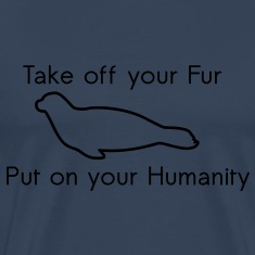 Take off your Fur T-Shirts