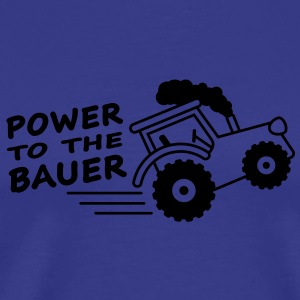 power_to_the_bauer Koszulki - Koszulka męska Premium