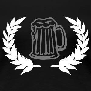 beer sign T-Shirts - Women's Premium T-Shirt