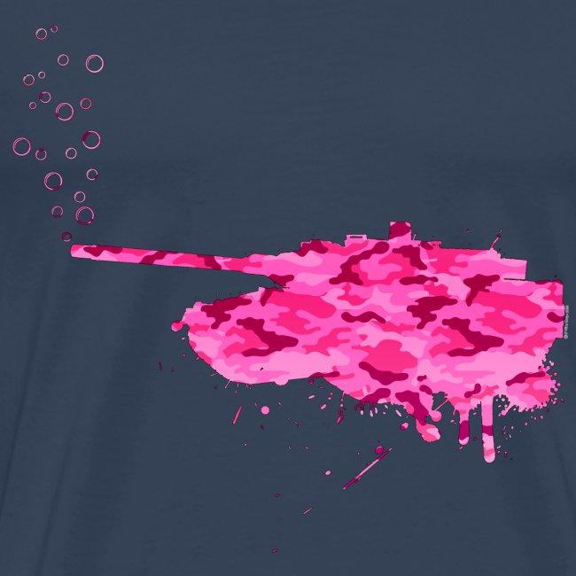 soap bubbles splash tank - Girl Camo