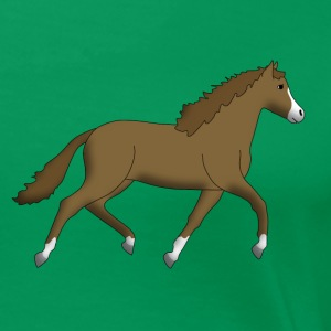 horse brown T-Shirts - Women's Premium T-Shirt