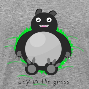 Lay in the grass (Homme) - T-shirt Premium Homme