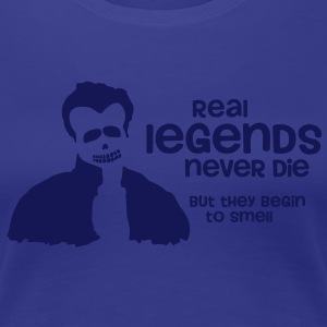 Real Legends never die (Zombie) - Frauen Premium T-Shirt
