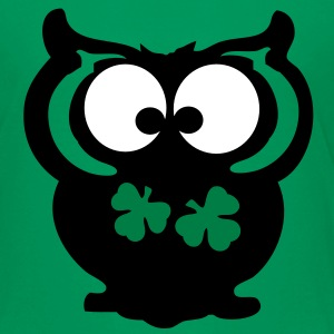 Owl shamrock st.Patty's day Classic Teenager T-Shi - Teenage Premium T-Shirt