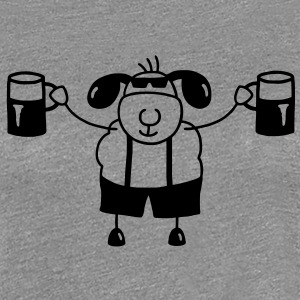 Sheep with beer T-Shirts - Women's Premium T-Shirt